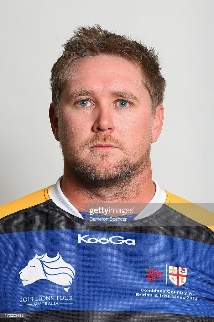 Tom Kearney of the Combined NSW/QLD Country team poses during a headshots session at The Crowne Plaza on June 9, 2013 in Newcastle, Australia.