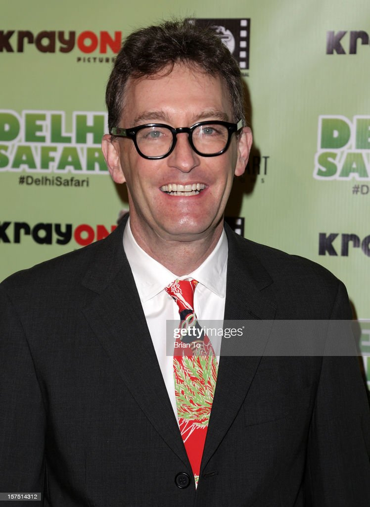 Tom Kenny attends 'Delhi Safari' - Los Angeles premiere at Pacific Theatre at The Grove on December 3, 2012 in Los Angeles, California.