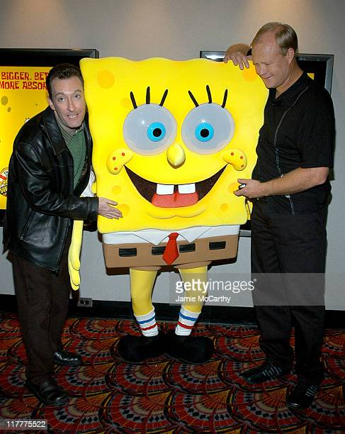 Tom Kenny the voice of 'SpongeBob SquarePants' and Bill Faggerbakke the voice of 'Patrick Starfish'