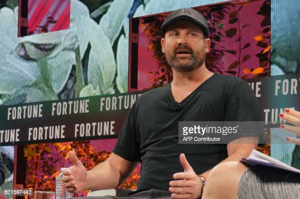Tom KentleyKlay CEO Zoox speaks July 17 2017 at the Fortune Brainstorm Tech conference in Aspen Colorado / AFP PHOTO / ROB LEVER