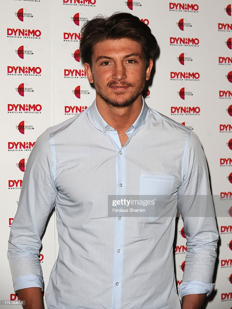 Tom Kilbey attends Dynamo's secret London gig on July 9, 2013 in London, England.