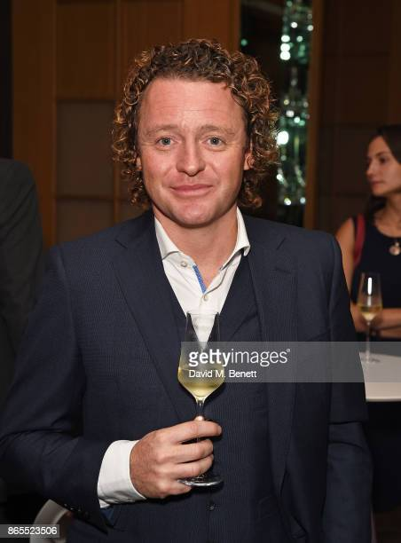 Tom Kitchin attends 10th anniversary of Alain Ducasse at The Dorchester on October 23 2017 in London England