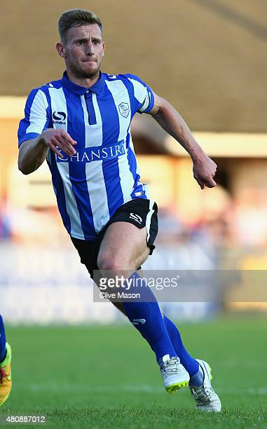 Tom Lees of Sheffield Wednesday during the pre season friendly match between Ilkeston and Sheffield Wednesday at the New Manor Ground on July 15 2015...