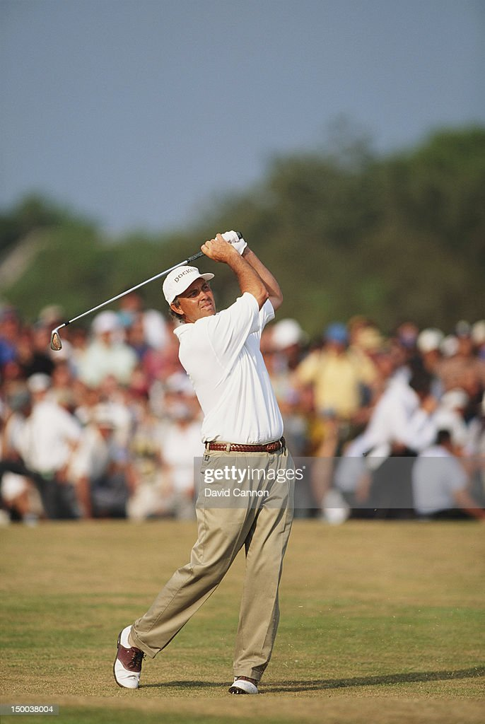 Tom Lehman of the United States during the 125th Open Championship on 21st July 1996 at the Royal Lytham and St Annes Golf Club in Lytham St Annes...