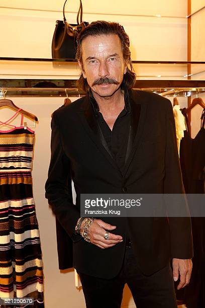 Tom Lemke attends the Salvatore Ferragamo Shop Opening on April 14 in Berlin 2016 Germany