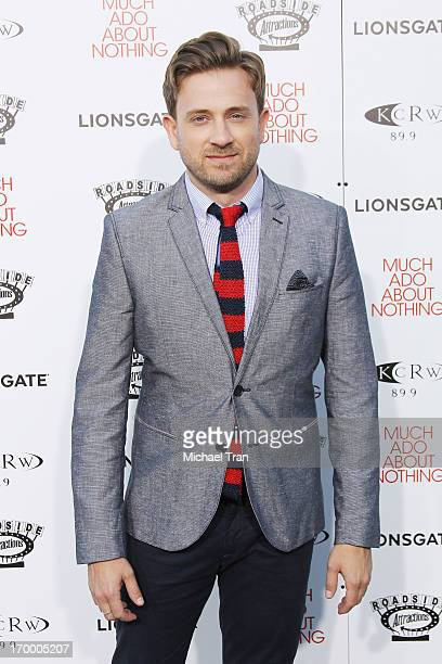 Tom Lenk arrives at the Los Angeles screening of 'Much Ado About Nothing' held at Oscars Outdoors on June 5 2013 in Hollywood California