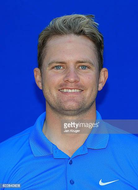 Tom Lewis of England during the first round of the European Tour qualifying school final stage at PGA Catalunya Resort on November 12 2016 in Girona...