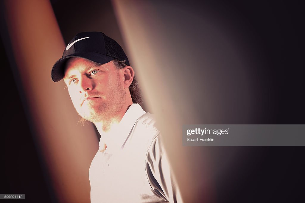 <a gi-track='captionPersonalityLinkClicked' href=/galleries/search?phrase=Tom+Lewis+-+Golfer&family=editorial&specificpeople=7911633 ng-click='$event.stopPropagation()'>Tom Lewis</a> of England poses for a picture prior to the start of the Tshwane Open at Pretoria Country Club on February 09, 2016 in Pretoria, South Africa.