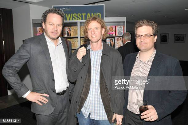 Tom Liegey Rich Rosenthal and Dave Statman attend TIME INC Live and Unfiltered Presents ROUGH JUSTICE Hosted by FORTUNE at Time and Life Building...