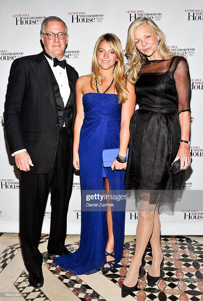 Tom, Lizzie and Ingrid Edelman attend the Lenox Hill Neighborhood House Spring Gala Benefit at Cipriani 42nd Street on April 3, 2013 in New York City.