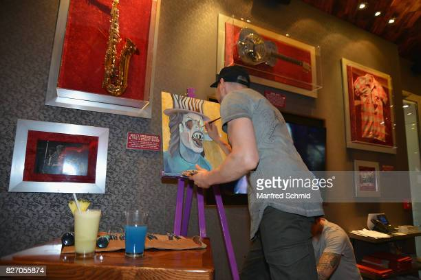 Tom Lohner attends the 3rd birthday party of the Hard Rock Cafe Vienna on August 6 2017 in Vienna