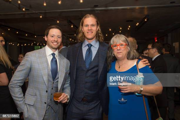 Tom Martchitelli Noah Syndergaard and Heidi Syndergaard attend Gotham Magazine's Celebration of it's Late Spring Issue with Noah Syndergaard at 1...