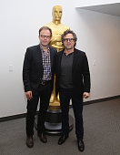 Tom McCarthy and Mark Ruffalo attend The Academy of Motion Picture Arts and Sciences hosts an official Academy screening of SPOTLIGHT on November 19...