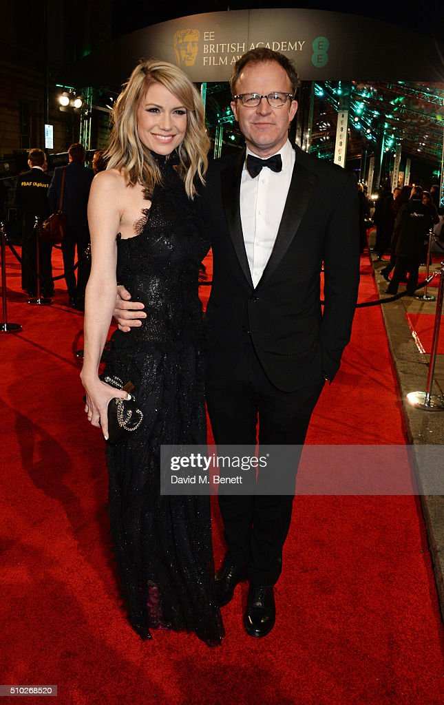 Tom McCarthy (R) attends the EE British Academy Film Awards at The Royal Opera House on February 14, 2016 in London, England.