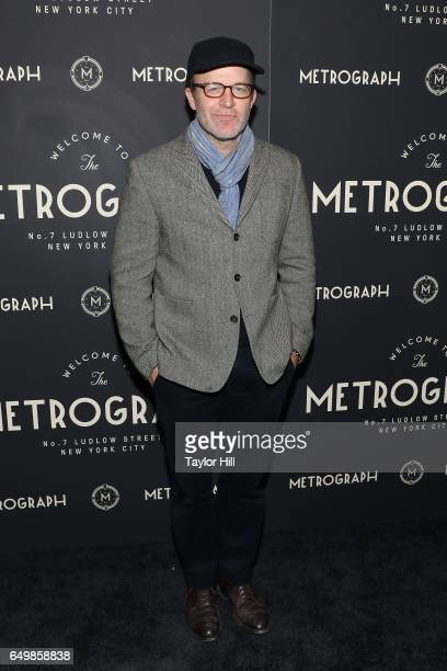 Tom McCarthy attends the Metrograph 1st Year Anniversary Party at Metrograph on March 8 2017 in New York City