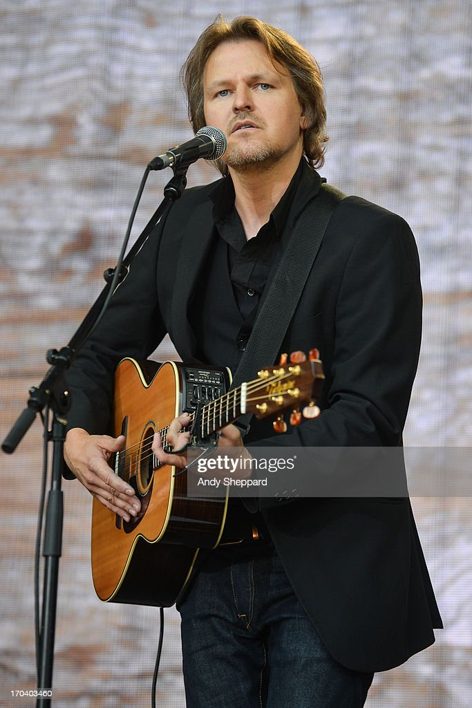 Tom McRae performs on stage in support of One campaign's Agit8 event at Tate Modern on June 12, 2013 in London, England.