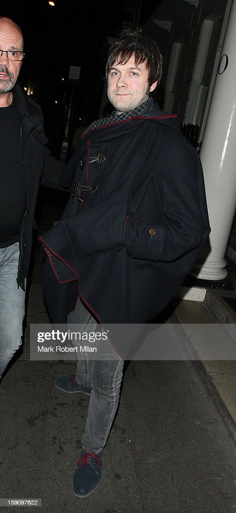 Tom Meighan at the Arts club Dover Street on January 7, 2013 in London, England.