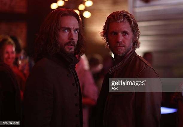 Tom Mison and Matt Barr in the 'Heartless' episode of SLEEPY HOLLOW airing Monday Nov 10 2014 on FOX