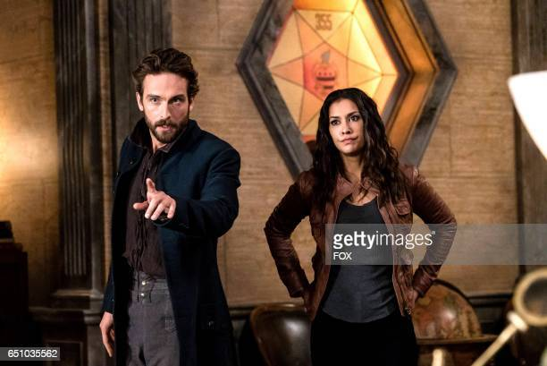 Tom Mison and Rachel Melvin in theSick Burn episode of SLEEPY HOLLOW airing Friday Feb 24 on FOX
