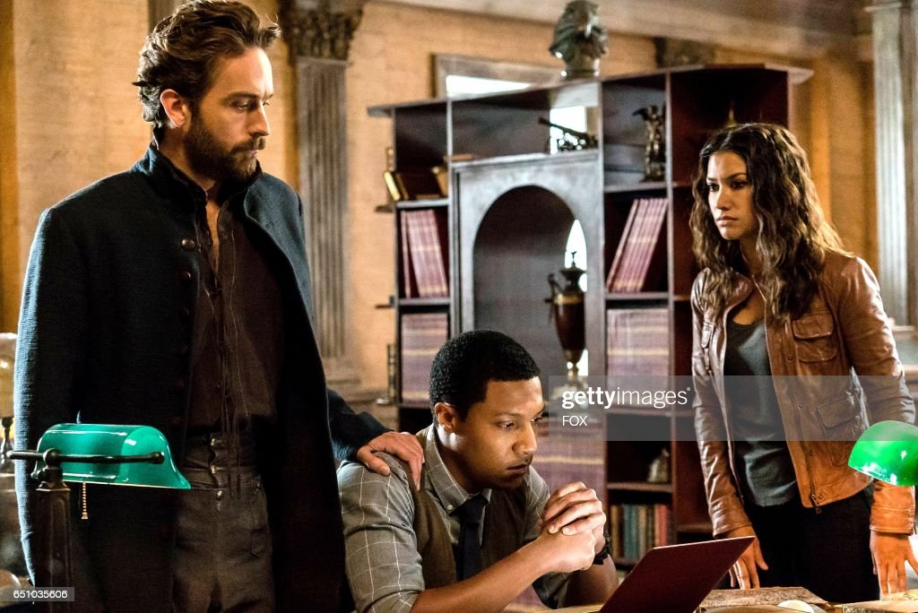 Tom Mison, Jerry MacKinnon and Janina Gavankar in theSick Burn episode of SLEEPY HOLLOW airing Friday, Feb. 24 (9:00-10:00 PM ET/PT) on FOX.