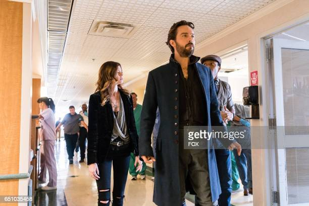 Tom Mison Jerry MacKinnon and Rachel Melvin in theSick Burn episode of SLEEPY HOLLOW airing Friday Feb 24 on FOX