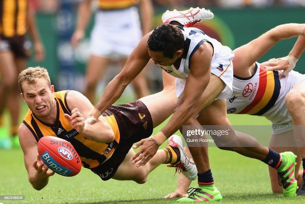 AFL Rd 2 - Hawthorn v Adelaide