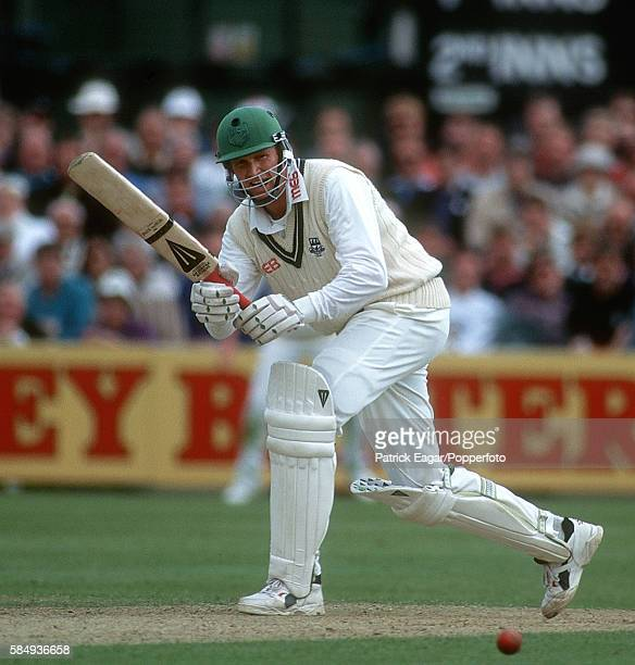 Tom Moody batting for Worcestershire during his innings of 75 not out in the Benson and Hedges Cup Semi Final between Worcestershire and Lancashire...