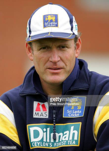 Tom Moody coach of the Sri Lanka cricket team before the tour match between British Universities and Sri Lankans at Fenners Cambridge 24th April 2006
