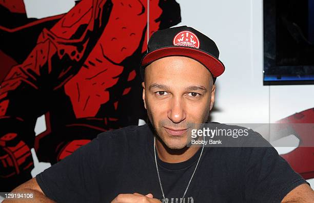 Tom Morello attends New York Comic Con 2011 at the Jacob Javits Center on October 13 2011 in New York City