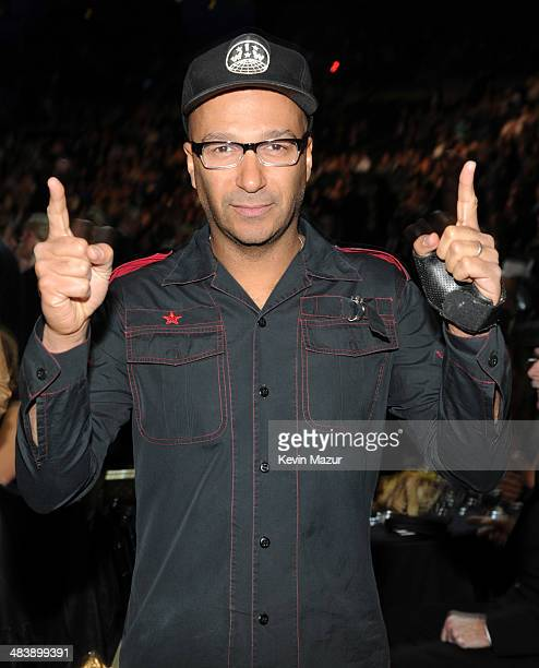 Tom Morello attends the 29th Annual Rock And Roll Hall Of Fame Induction Ceremony at Barclays Center of Brooklyn on April 10 2014 in New York City