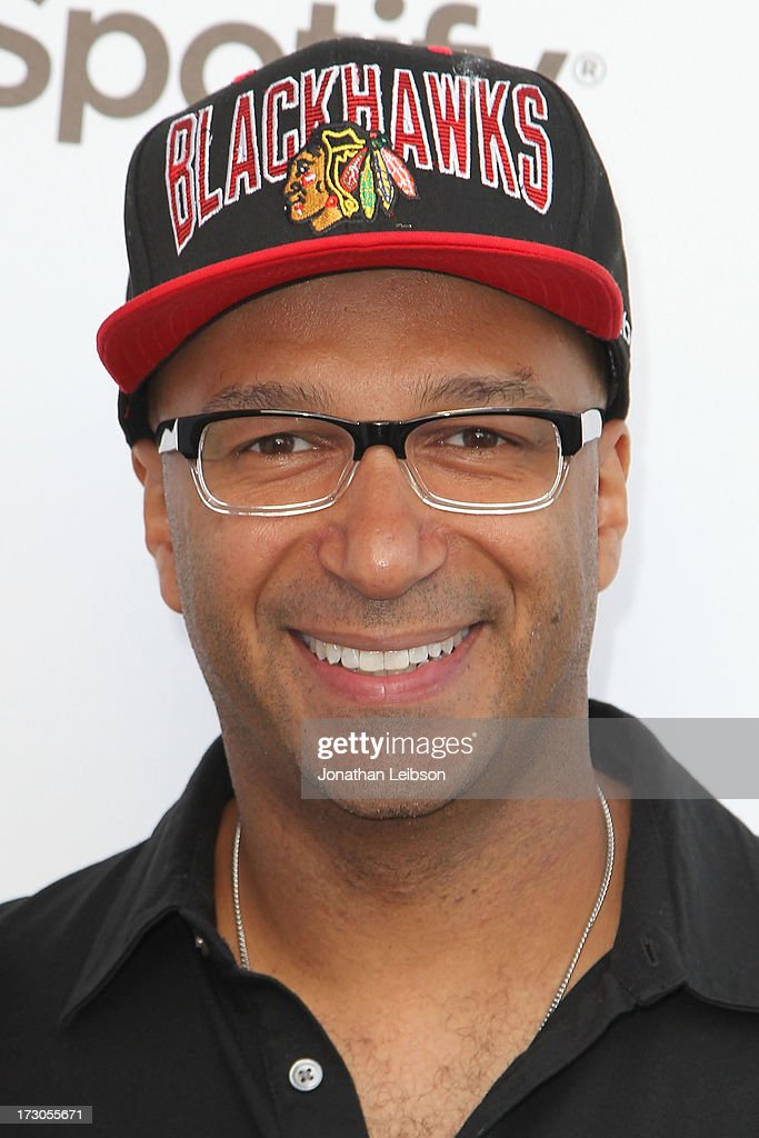 <a gi-track='captionPersonalityLinkClicked' href=/galleries/search?phrase=Tom+Morello&family=editorial&specificpeople=2133151 ng-click='$event.stopPropagation()'>Tom Morello</a> attends the Guy Oseary's July 4th event in Malibu presented by Spotify and Live Nation with DeLeon and VitaCoco at Nobu Malibu on July 4, 2013 in Malibu, California.