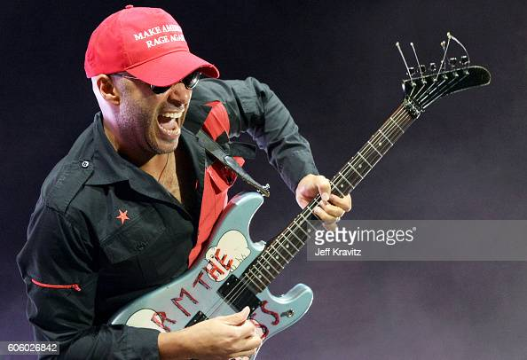 Tom Morello of Prophets of Rage performs at the Forum on September 15 2016 in Los Angeles California