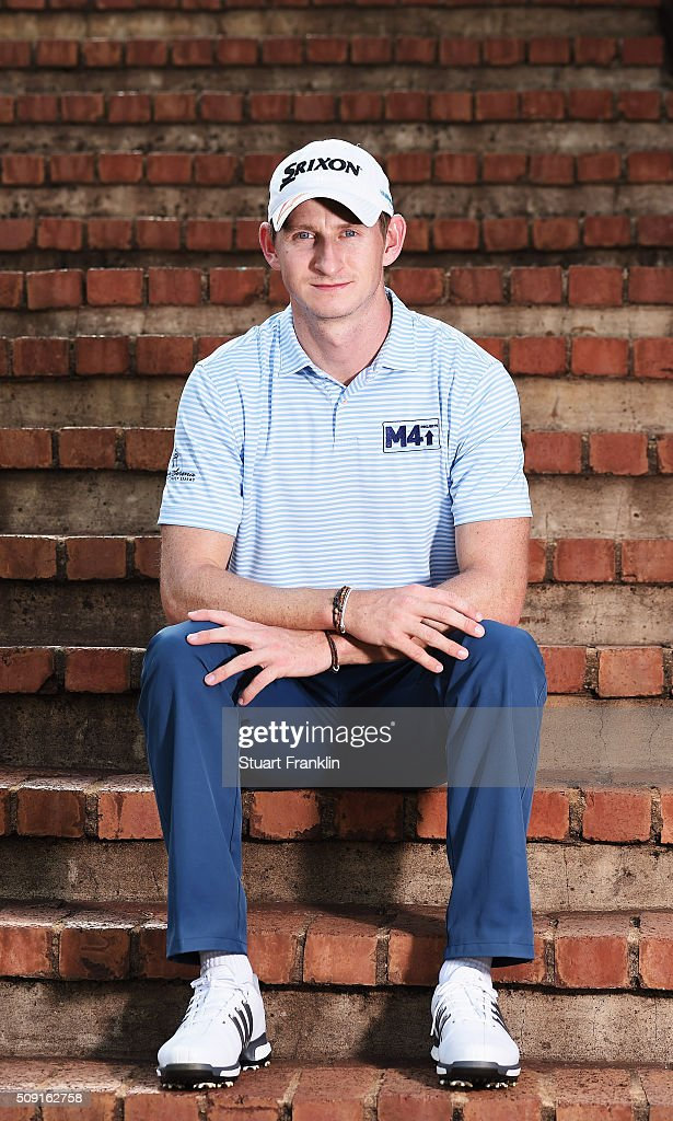 Tom Murray of England poses for a picture prior to the start of the Tshwane Open at Pretoria Country Club on February 09, 2016 in Pretoria, South Africa.