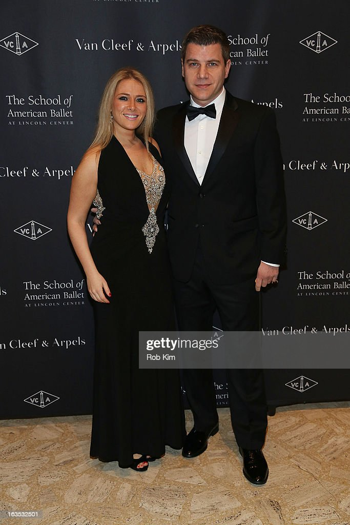 Tom Murro (R) attends the School of American Ballet 2013 Winter Ball at David H. Koch Theater, Lincoln Center on March 11, 2013 in New York City.