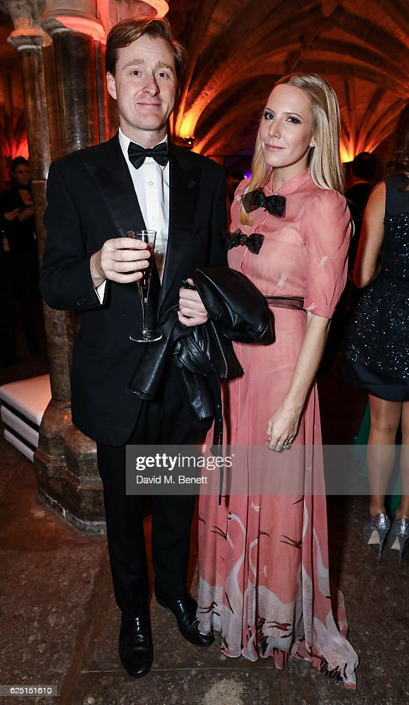 Tom Naylor-Leyland and Alice Naylor-Leyland attends the Save The Children Winter Gala at The Guildhall on November 22, 2016 in London, England.