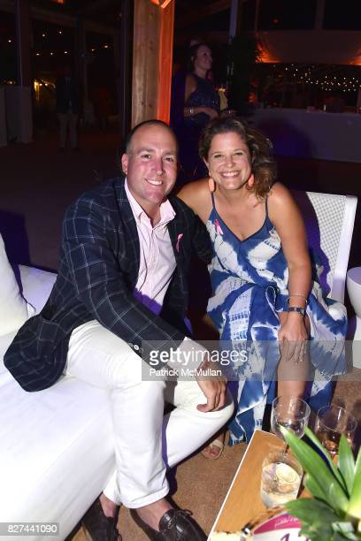Tom Nolan and Lacy Edmondson attend Sixth Annual Hamptons Paddle and Party for Pink Benefitting the Breast Cancer Research Foundation at Fairview on...