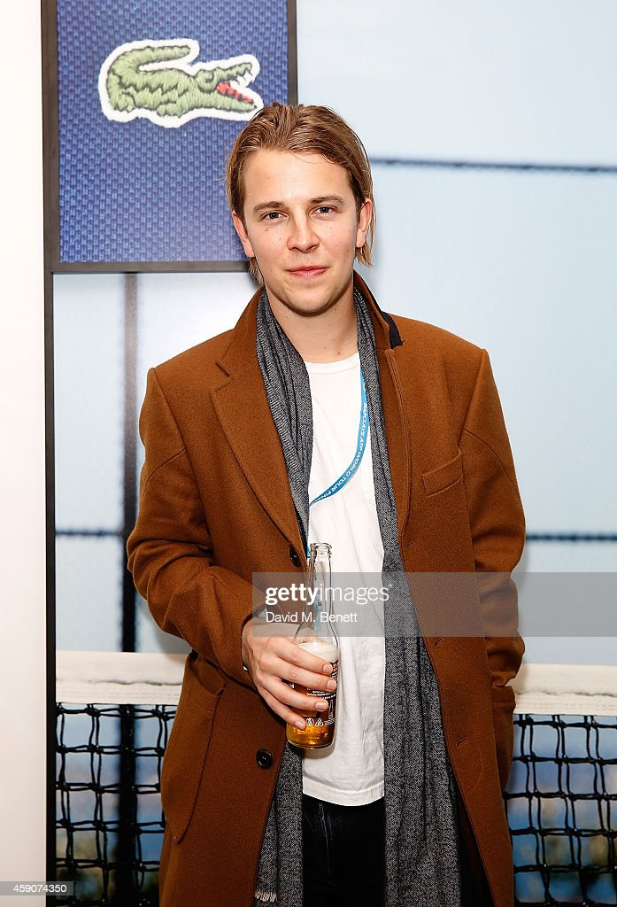 Tom Odell attends the Lacoste VIP Lounge at the ATP World Finals 2014 at O2 Arena on November 16 2014 in London England