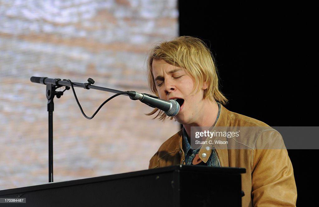 Tom Odell performing at agit8 at Tate Modern, ONE's campaign ahead of the G8 on June 12, 2013 in London, England.