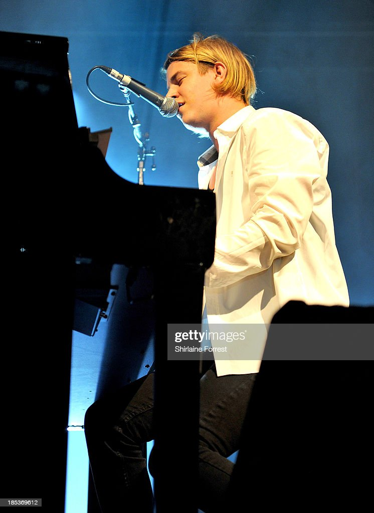 Tom Odell performs at Manchester Academy on October 19 2013 in Manchester England