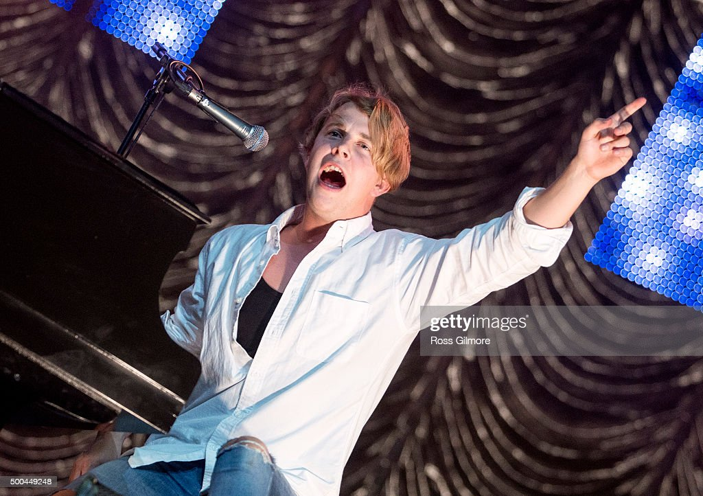 Tom Odell performs at the Radio Clyde 1 Live event at The SSE Hydro on December 8 2015 in Glasgow Scotland