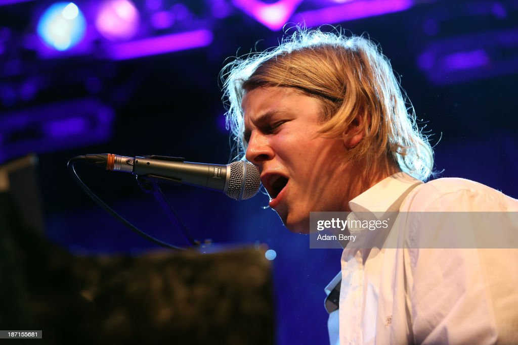 Tom Odell performs during a concert at Kesselhaus on November 6 2013 in Berlin Germany