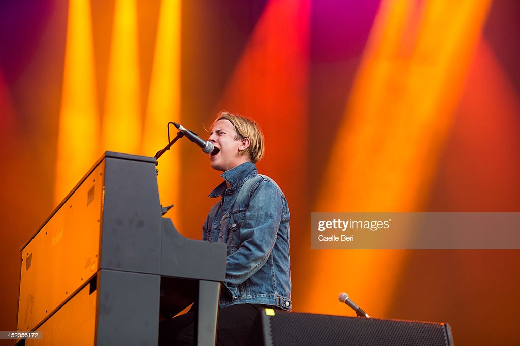 Tom Odell performs on Day 2 of Benicassim Music Festival on July 18 2014 in Benicasim Spain