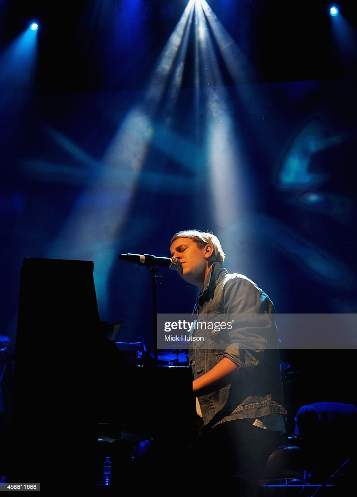 Tom Odell performs on stage as part of an evening of The Who music in aid of Teenage Cancer Trust at O2 Shepherd's Bush Empire on November 11 2014 in...