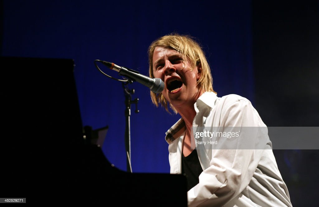 Tom Odell performs on stage at Southampton Guildhall on November 29 2013 in Southampton England