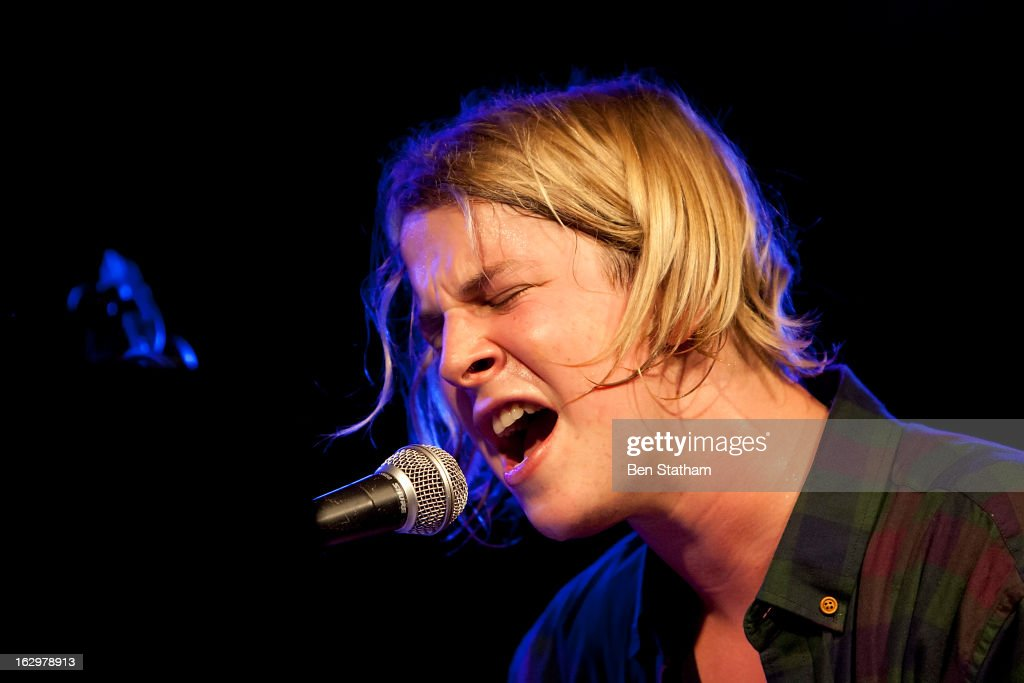 <a gi-track='captionPersonalityLinkClicked' href=/galleries/search?phrase=Tom+Odell&family=editorial&specificpeople=9163633 ng-click='$event.stopPropagation()'>Tom Odell</a> performs on stage in concert at Cockpit on March 2, 2013 in Leeds, England.