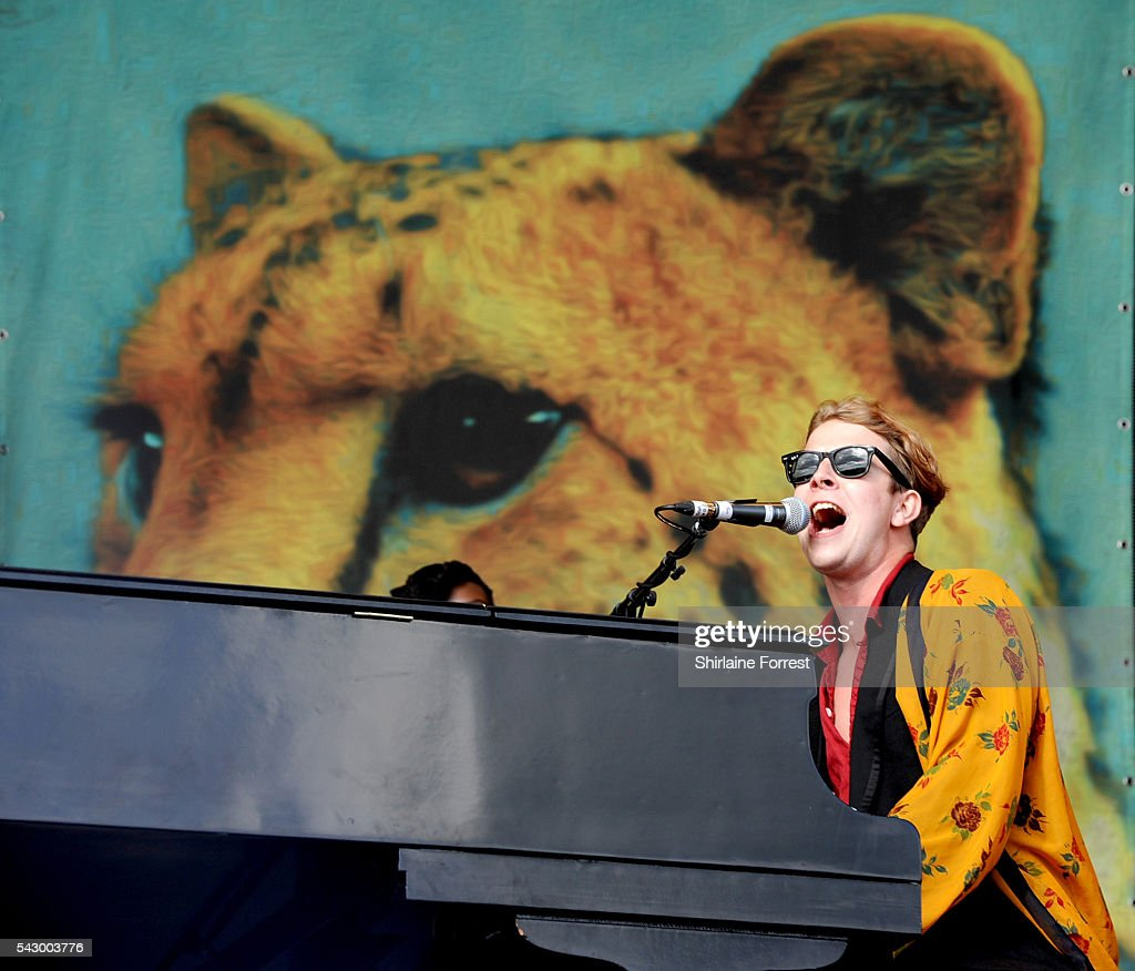 Tom Odell performs on The Other stage at Glastonbury Festival 2016 at Worthy Farm, Pilton on June 25, 2016 in Glastonbury, England.
