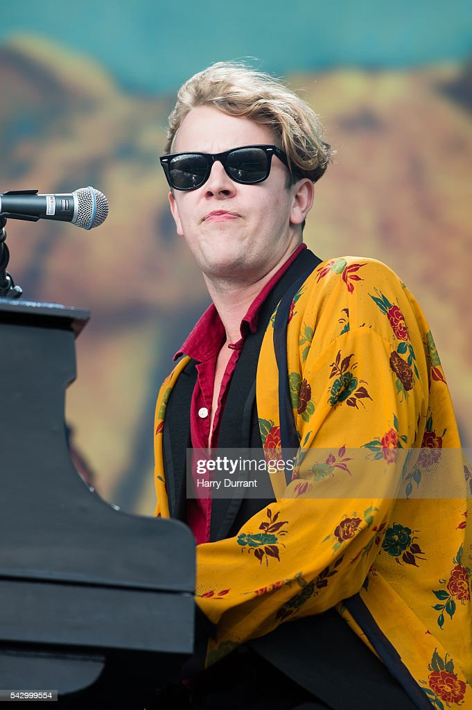 Tom Odell performs on The Other Stage, Glastonbury Festival 2016 at Worthy Farm, Pilton on June 25, 2016 in Glastonbury, England.