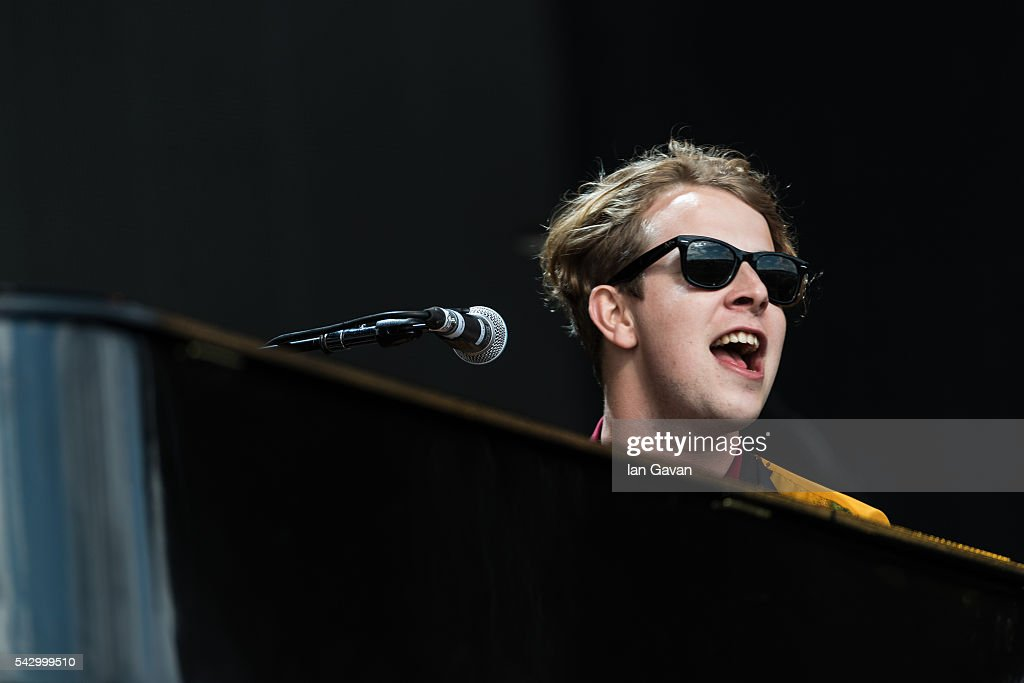 Tom Odell performs on The Other Stage on day 2 of the Glastonbury Festival at Worthy Farm, Pilton on June 25, 2016 in Glastonbury, England. Now its 46th year the festival is one largest music festivals in the world and this year features headline acts Muse, Adele and Coldplay. The Festival, which Michael Eavis started in 1970 when several hundred hippies paid just £1, now attracts more than 175,000 people.