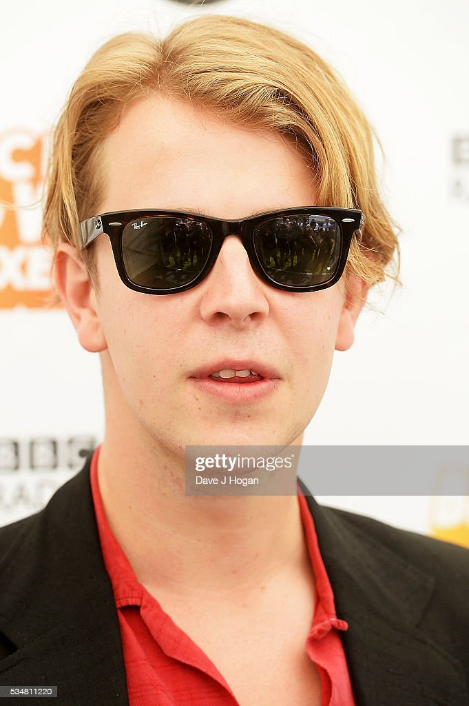 <a gi-track='captionPersonalityLinkClicked' href=/galleries/search?phrase=Tom+Odell&family=editorial&specificpeople=9163633 ng-click='$event.stopPropagation()'>Tom Odell</a> poses for photos during day 1 of BBC Radio 1's Big Weekend at Powderham Castle on May 28, 2016 in Exeter, England.