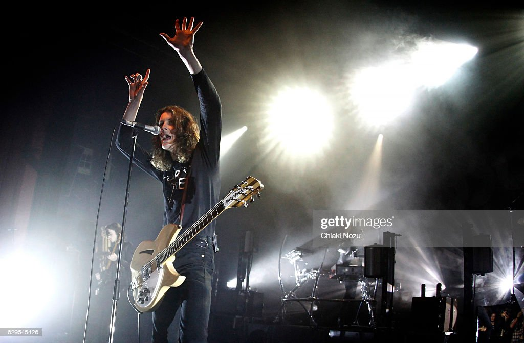 Tom Ogden of Blossoms performs at O2 Shepherd's Bush Empire on December 13, 2016 in London, England.